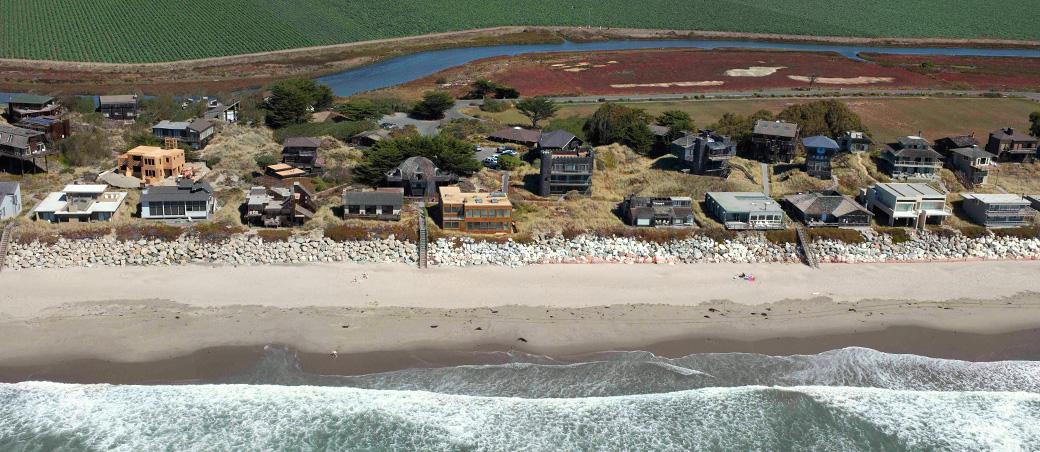 Pajaro Dunes, Watsonville, CARIP RAP SEAWALL AND BEACH ACCESS